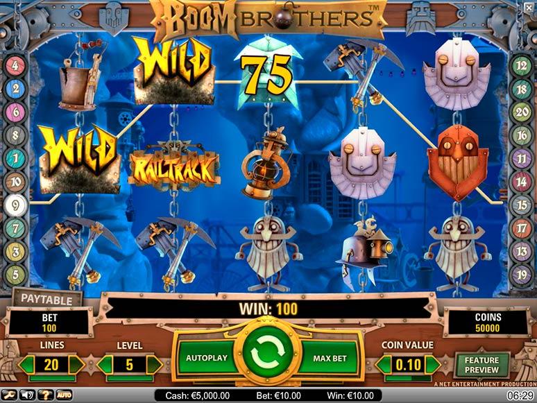 slot machine gratis boom brothers