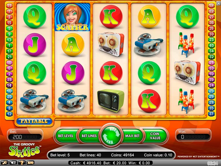 slot machine gratis groovy sixties