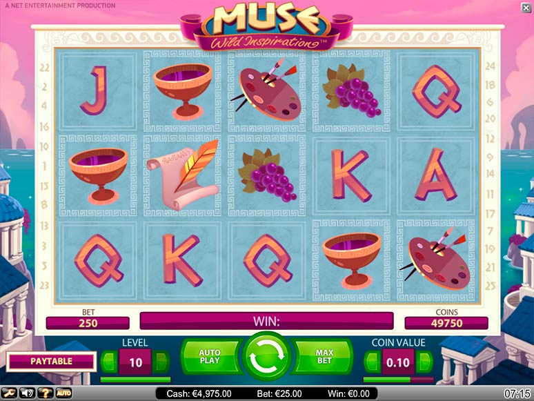 slot machine gratis muse