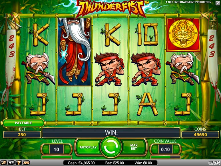 slot machine gratis thunderfist