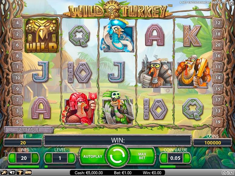 slot machine gratis wild turkey