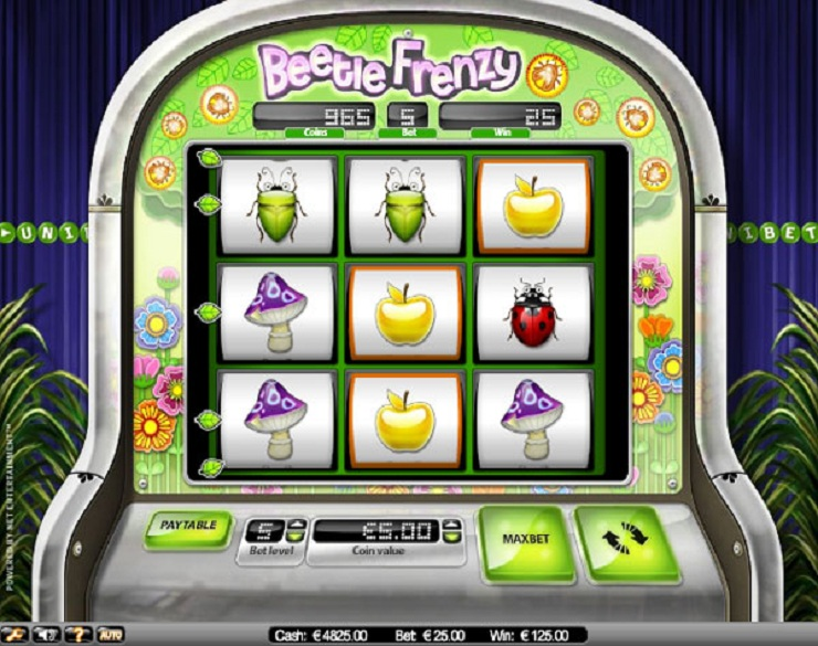 beetle frenzy slot machine gratis