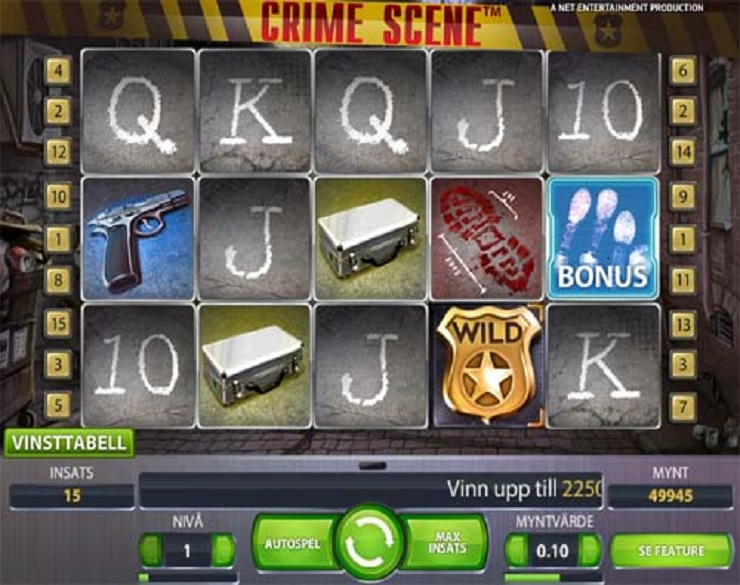 crime scene slot machine gratis