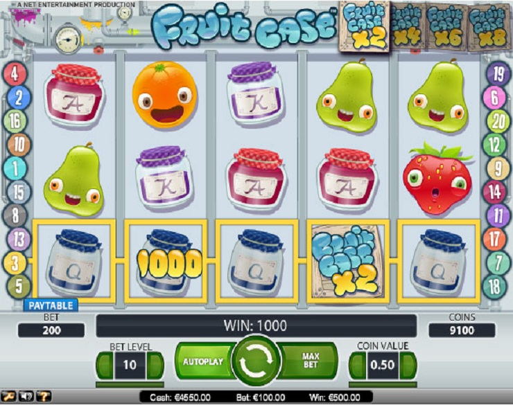 fruit case slot machine gratis