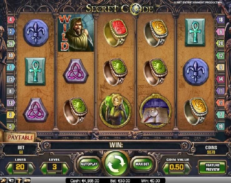 secret code slot machine gratis