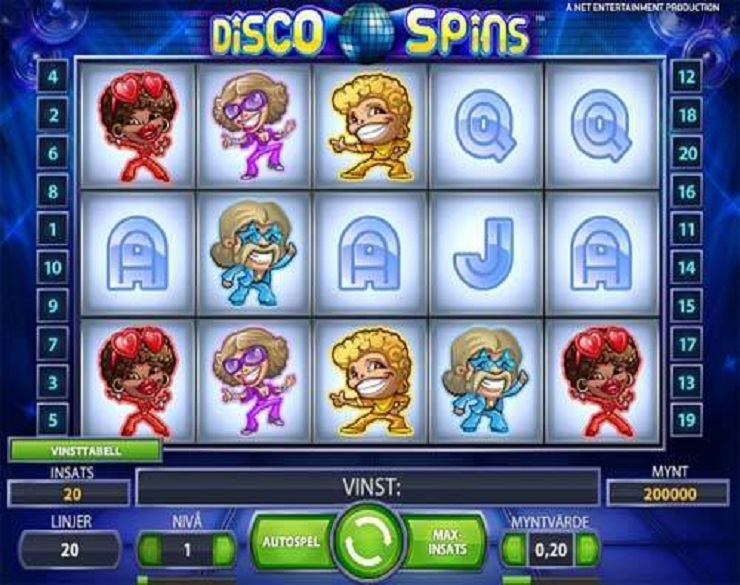 disco spins slot machine gratis