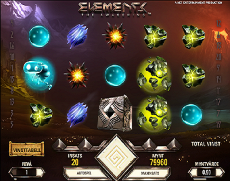 elements slot machine gratis