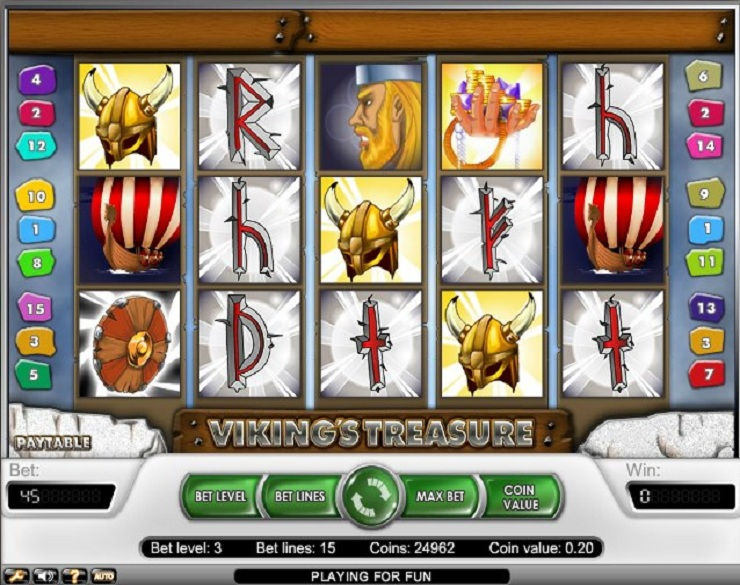 vikings treasure slot machine gratis