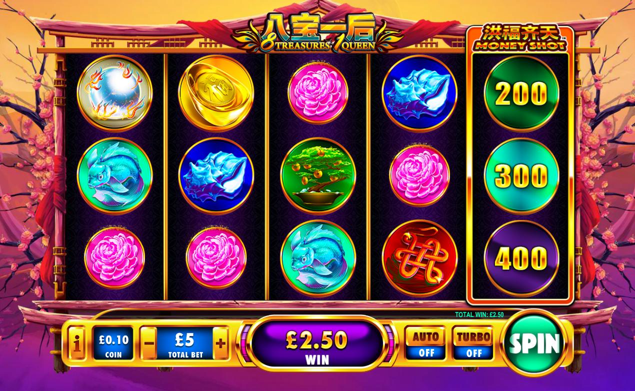 Fever queen 1 slot machine