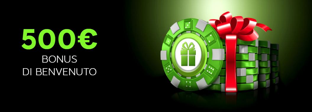 888 Casino Bonus di Benvenuto