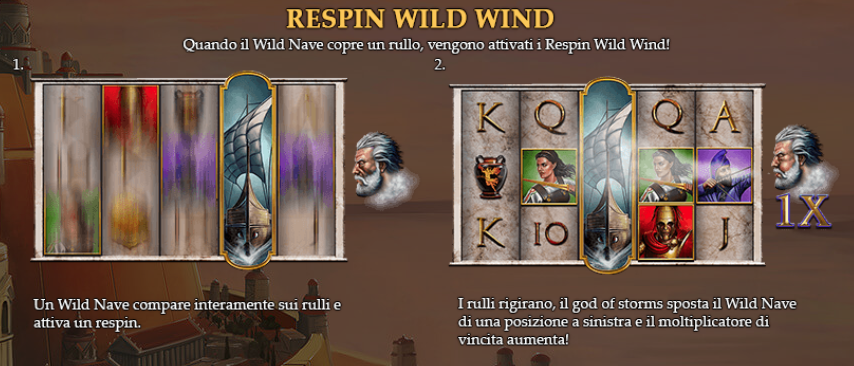 Age Of The Gods God Of Storms Slot Machine Funzione Del Bonus