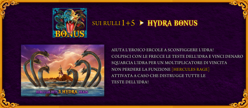 Age of The Gods Prince of Olympus Slot Machine Funzione del Bonus