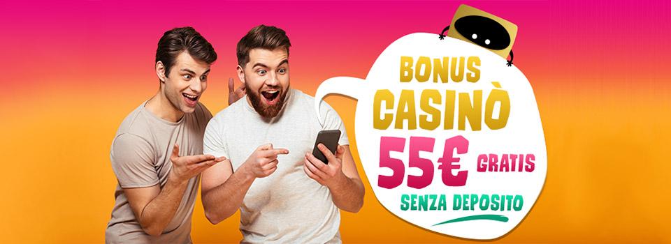 BIG Casino Casino Bonus gratis senza deposito