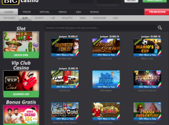 big casino giochi slot