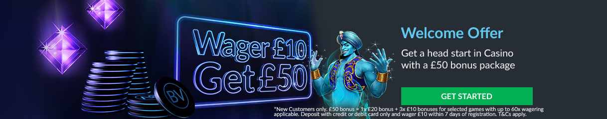 BetVictor Casino Bonus di Benvenuto