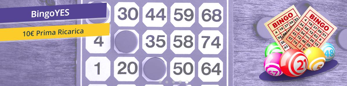 BingoYes Bonus di Benvenuto
