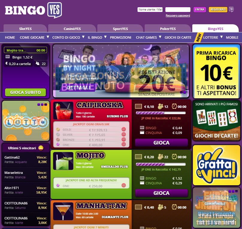 BingoYes Giochi