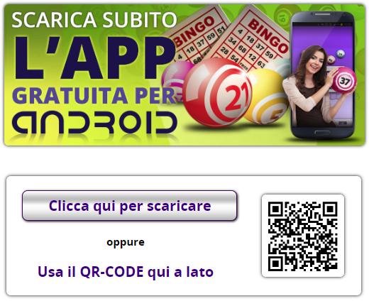 BingoYes mobile App per android