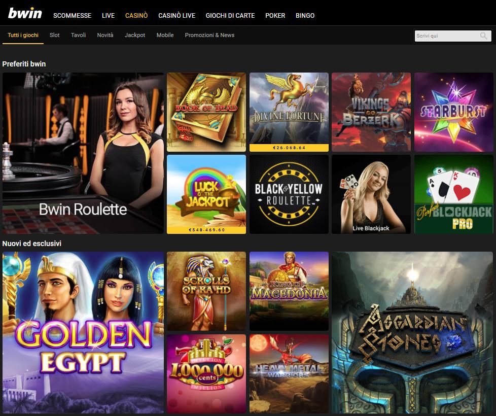 Bwin Casino Giochi Slot