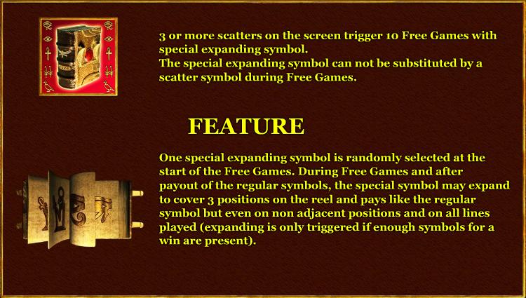 Caratteristiche della slot Book of Ra Deluxe