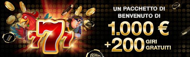Casino Midas Bonus di Benvenuto