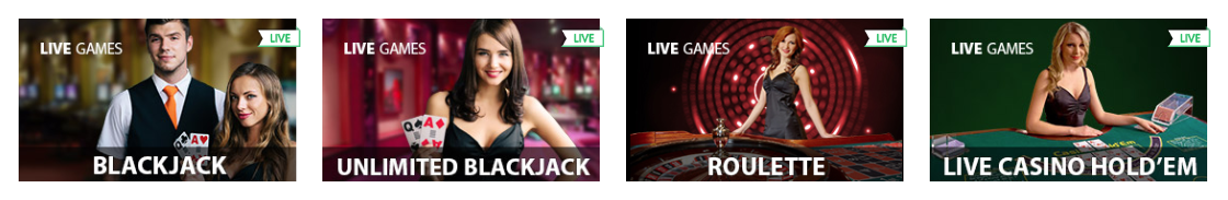 Casino com Giochi dal vivo