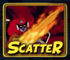Daltanious Slot Simbolo Scatter