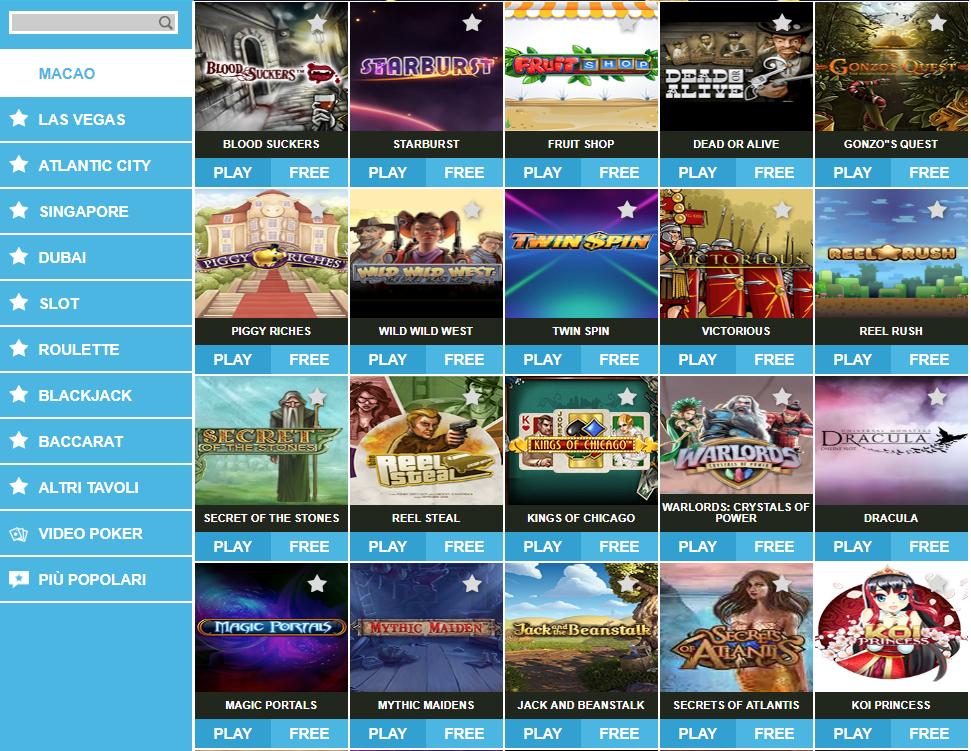 EnjoyBet Casino Giochi Slot