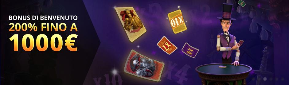 Euromoon Casino Bonus di Benvenuto