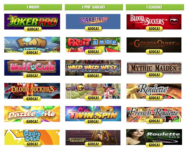Giochi24.it Casino Giochi Slot