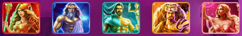 Gratis Age of the Gods Slot Machine: Simboli Speciali