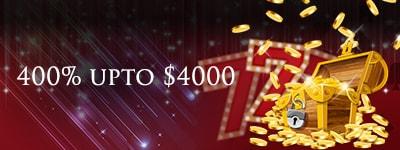Lucky Red Casino Bonus di Benvenuto