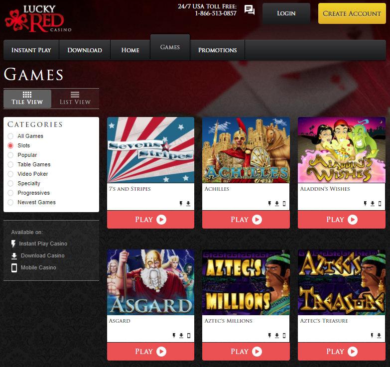 Lucky Red Casino Giochi Slot