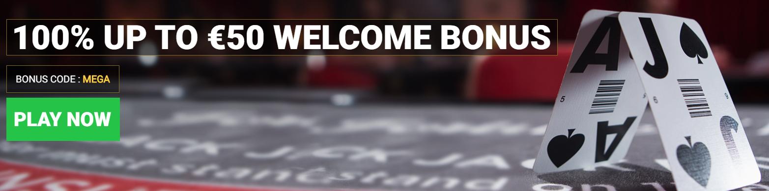 Mega Casino Bonus di Benvenuto