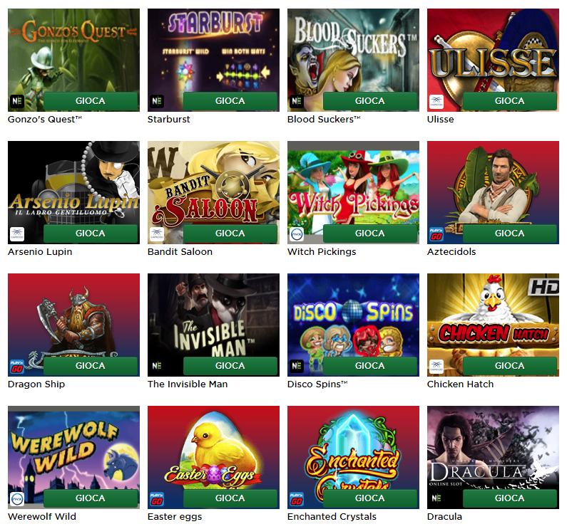 Mr Green Casino Giochi Slot