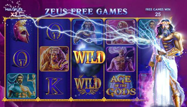 Slot Machine Age of the Gods: Zeus Free Games