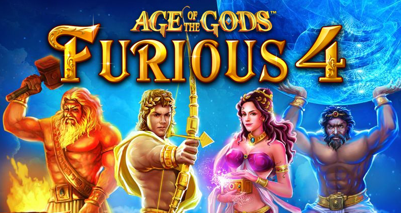 Slot Machine Gratis Age of Gods: Furious 4