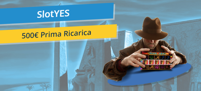 SlotYes Prima Ricarica Bonus di Benvenuto