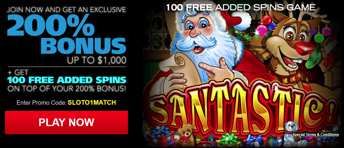 Sloto Cash Casino Bonus di Benvenuto 2