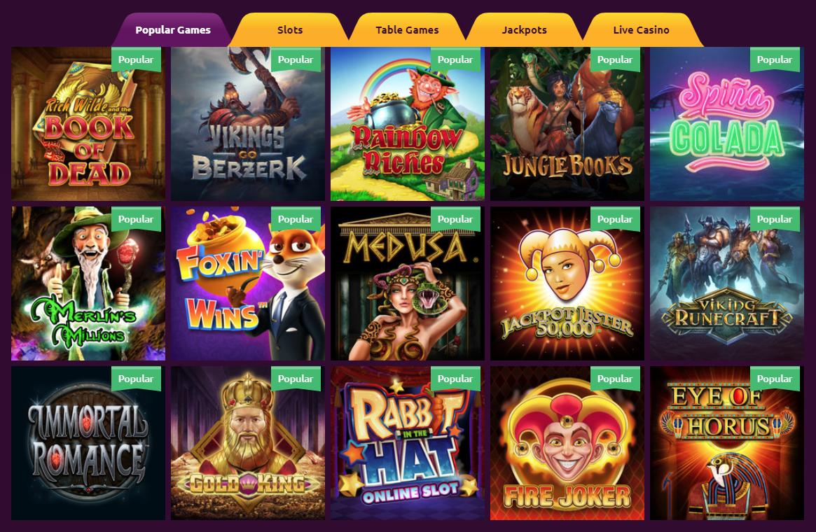 SlotsMagic Casino Giochi Slot