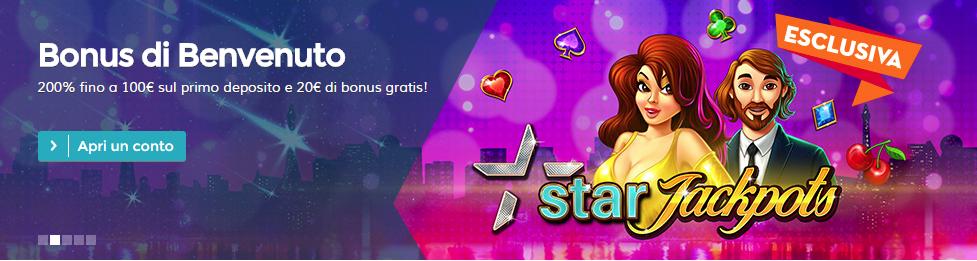StarCasinò Bonus di Benvenuto 2