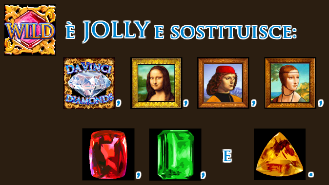 DaVinci Slot   simbolo Jolly