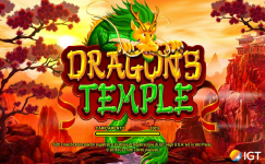 dragon's temple slot machine spielo