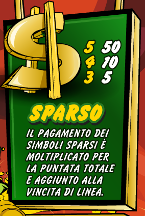 Giochi del Lotto Slot Machine simbolo Bonus