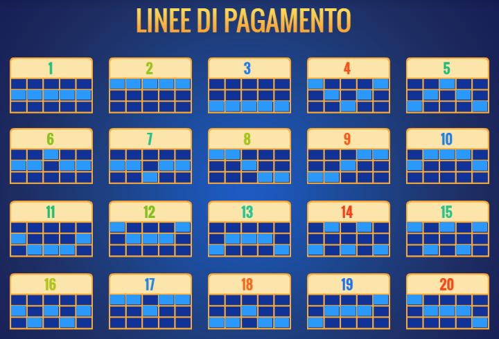 Gioco Slot Big Easy Linee Vincenti