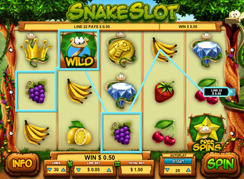 Gioco Snake Gratis Online