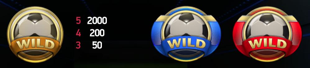 gratis football simboli wild