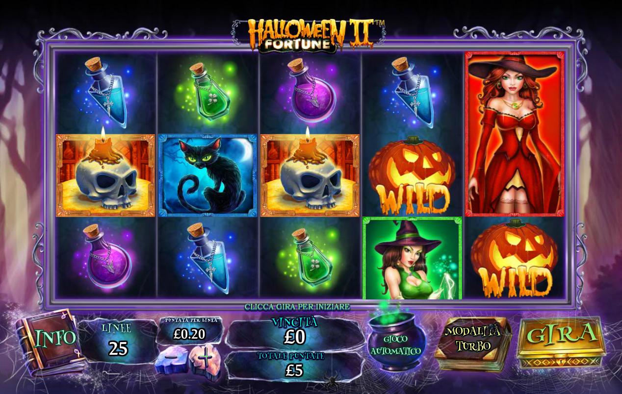 Halloween Fortune 2 Slot machine