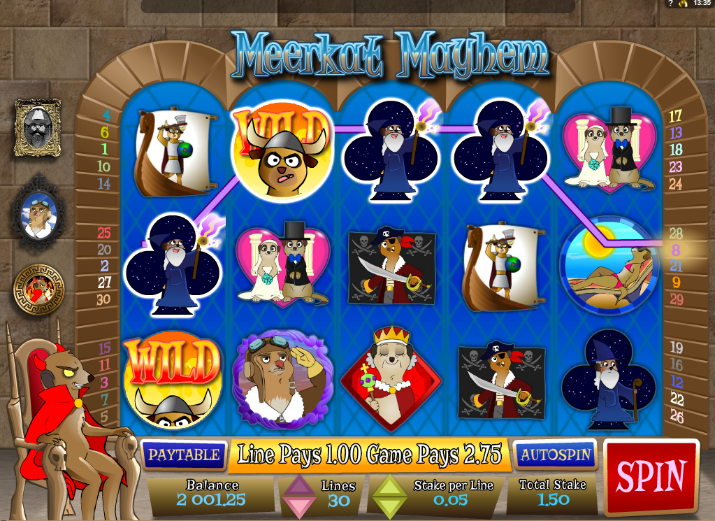 Lucky meerkats slot machine online