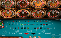 multi wheel european roulette gold series